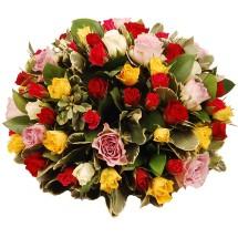 Biedermeier mixed rozen