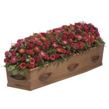 Kistbedekking rood