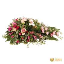 Rouwdruppel klassiek roze